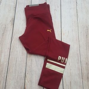 New PUMA Athletic Logo Leggings